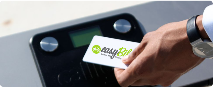 Use your card - Easybike